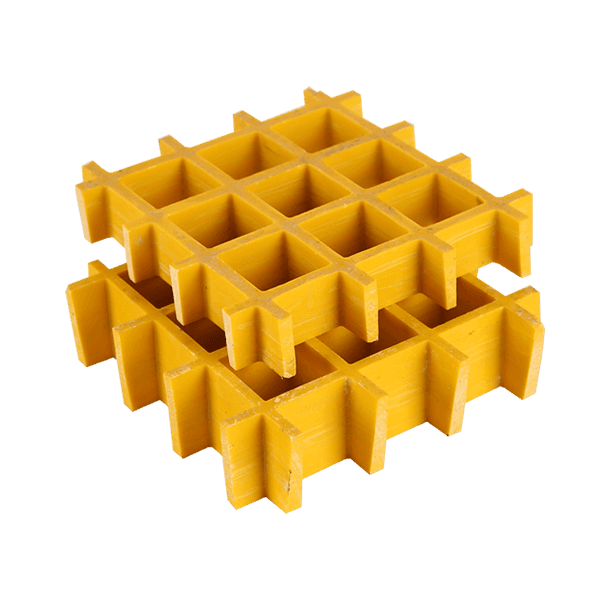 FRP/GRP Molded Grating – Standard & Custom for Platform and Stairs